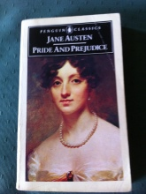 My well loved copy of Pride and Prejudice