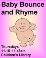 Baby bounce and rhyme