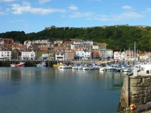Scarborough - the inspiration for Whitsborough Bay