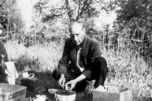 Leslie and picnic stove