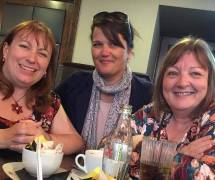 Sharon, Jo and Me - Leeds 2017