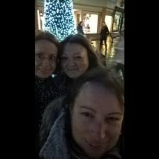 Sharon, me and Alex in Beverley - Christmas 2016